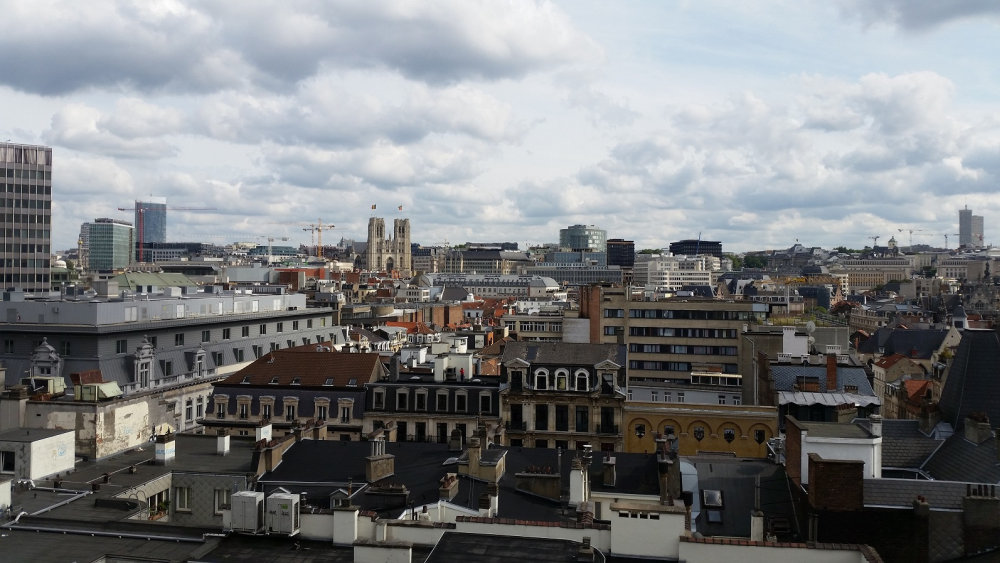 Panoramic view Brussels